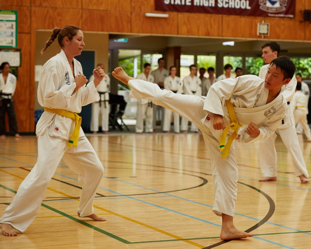 Pacific International Taekwondo sparring