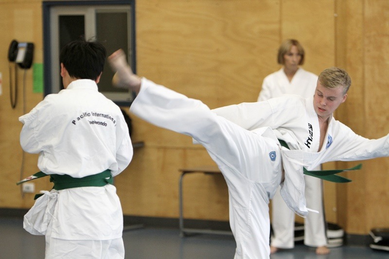 Taekwondo builds self belief